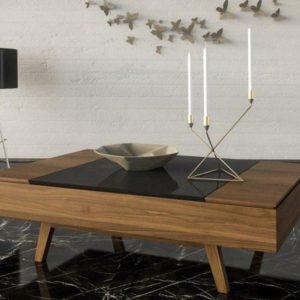 Μοντέρνο τραπέζι σαλονιού Valia
