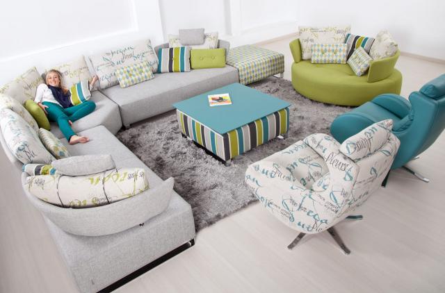 Γωνιακός καναπές G.Fama