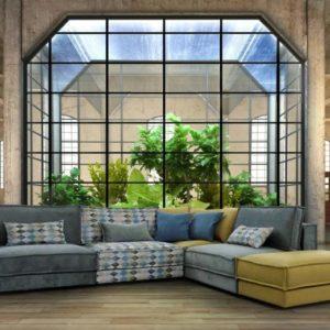 Γωνιακός καναπές G.Puzzle