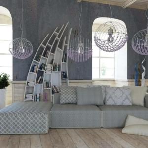 Γωνιακός καναπές Illusion
