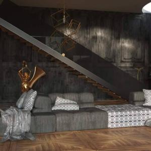 Γωνιακός καναπές Orlando