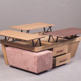 μοντέρνο τραπέζι σαλονιού Verto