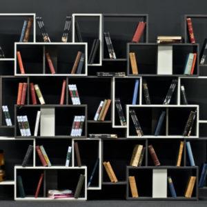 μοντέρνα σύνθεση - βιβλιοθήκη Book
