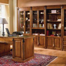 Classic writing desk - library Art. 2312 Β4